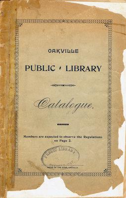 Oakville Public Library Catalogue