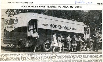 Bookmobile, 1959