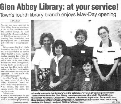 Glen Abbey Branch
