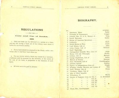 Oakville Public Library Catalogue (2-3)