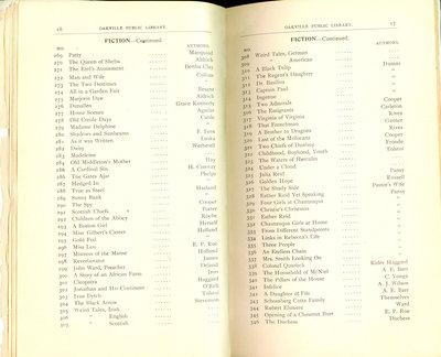 Oakville Public Library Catalogue (16-17)