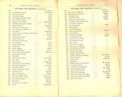 Oakville Public Library Catalogue (68-69)
