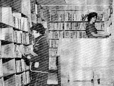 Stocking the Bookmobile