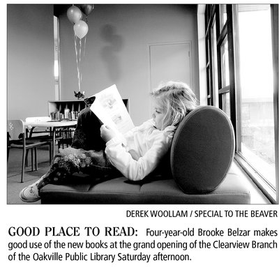 Reading at Clearview Branch