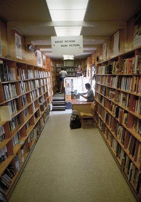 Interior of the Bookmobile