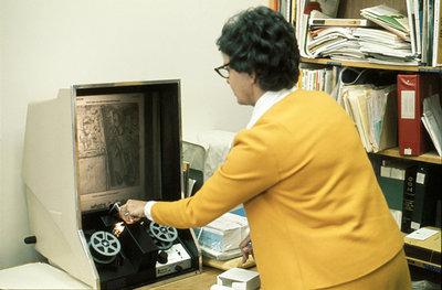 Microfilm Machine