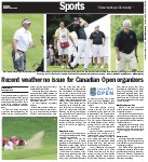 Recent weather no issue for Canadian Open organizers