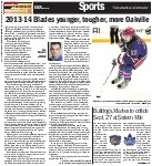 2013-14 Blades younger, tougher, more Oakville
