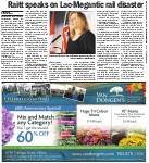 Raitt speaks on Lac-Megantic rail disaster