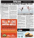 Local ballerinas competing in Glasgow this week
