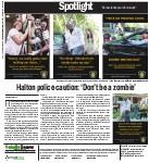Halton Police caution: 'Don't be a zombie'