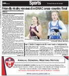 Friendly rivalry renewed in GHAC cross-country final