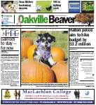 Oakville Beaver25 Oct 2013