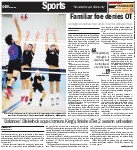 Familiar foe denies OT: Georgetown defeats Red Devils in senior volleyball final