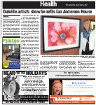 Oakville artist's show benefits Ian Anderson House