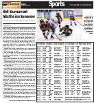 Bell tournament hits the ice tomorrow: 151 teams participating in this year's event