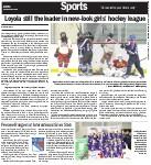 Loyola still the leader in new-look girls' hockey league