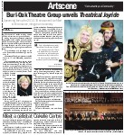 Burl-Oak Theatre Group unveils Theatrical Joyride: upcoming lineup for 2014-2015 season will be filled with romance, intrigue and comedy