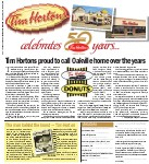 Tim Hortons proud to call Oakville home over the years