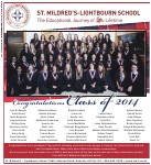 St. Mildred's-Lightbourn School: The Educational Journey of Her Lifetime, Congratulations Class of 2014