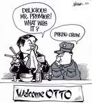 Steve Nease Editorial Cartoons: Welcome Otto