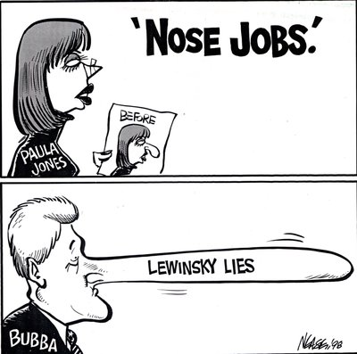 "Steve Nease - Editorial Cartoons: ""Nose Jobs"""