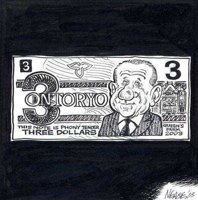 Steve Nease Editorial Cartoons: Ontoryo