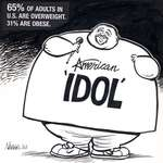 "Steve Nease Editorial Cartoons: ""American Idol"""
