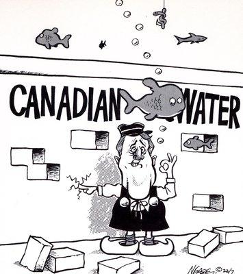 Steve Nease Editorial Cartoons: Canadian Water