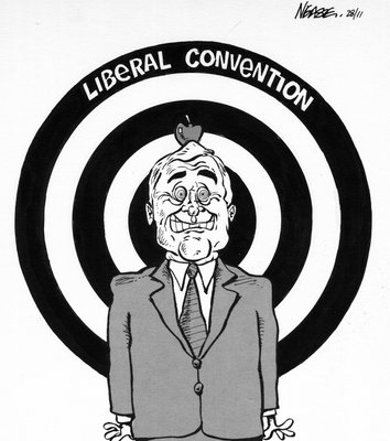 Steve Nease Editorial Cartoons: Liberal Convention (Target Practice)