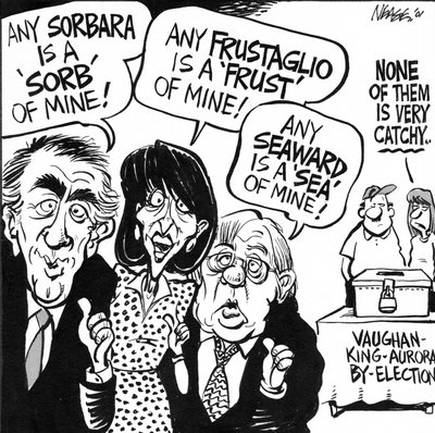 Steve Nease Editorial Cartoons: Vaughan By-Election