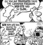 Steve Nease Editorial Cartoons: Canadian Fire Arms Website