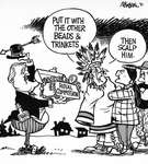 Steve Nease Editorial Cartoons: Beads & Trinkets