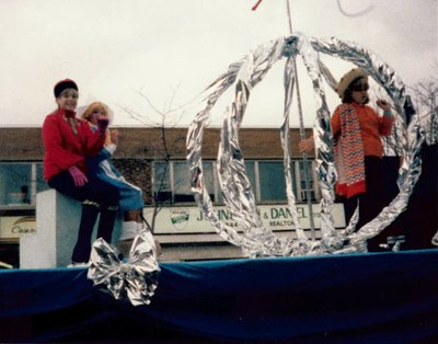Lisa Froese: Oakville Skating Club Float