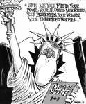 Steve Nease Editorial Cartoons: Mulroney's Throne Speech