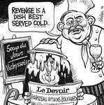 Steve Nease Editorial Cartoons: Parizeau Attacks Bouchard
