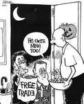 Steve Nease Editorial Cartoons: Free Trade