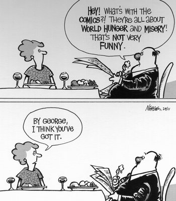 Steve Nease Editorial Cartoons: Not Very Funny
