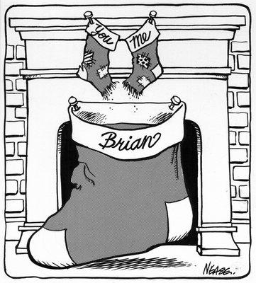 Steve Nease Editorial Cartoons: Merry Christmas Brian!
