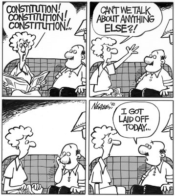 Steve Nease Editorial Cartoons: Constitution Talk