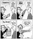 Steve Nease Editorial Cartoons: A Nice, Clean-living Fellow