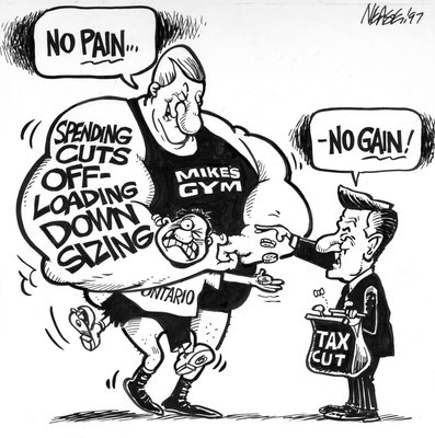 Steve Nease Editorial Cartoons: No Pain, No Gain!