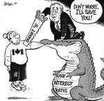 Steve Nease Editorial Cartoons: I'll Save You!