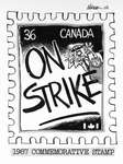 Steve Nease Editorial Cartoons: Postal Strike Commemorative Stamp