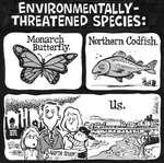 Steve Nease Editorial Cartoons: Environmentally Threatened Species