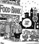 Steve Nease Editorial Cartoon: Laid Off