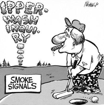 Steve Nease Editorial Cartoons: Ipperwash Inquiry