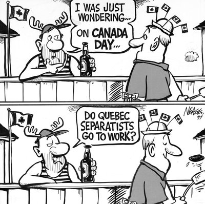Steve Nease Editorial Cartoons: What Separatists Do on Canada Day