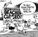 Steve Nease Editorial Cartoons: Beaches Closed