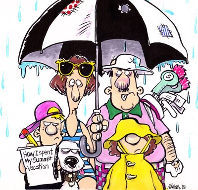 Steve Nease Editorial Cartoons: A Rainy Summer